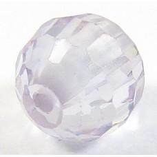 1 Zircon 6mm Round Bead - Lilac