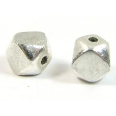 1 Sterling Silver Cubism Bead
