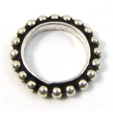 1 Sterling Silver 11mm Ring