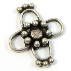 1 Sterling Silver Spacer Bead