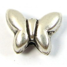 1 Sterling Silver Butterfly Bead
