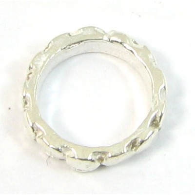 1 Patterned Sterling Silver Ring