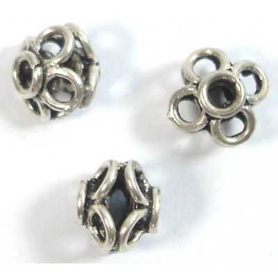 1 Sterling Silver 10mm Bead