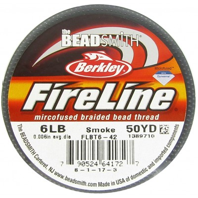 1 Reel of Smoke Grey Fireline