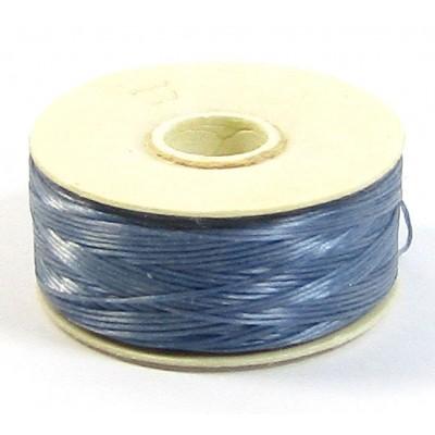 Bobbin of GreyBlue Nymo Beading Thread