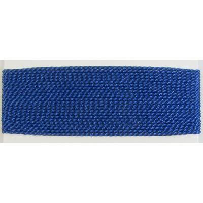 Silk Thread Cord with needle Lapis Blue - Medium