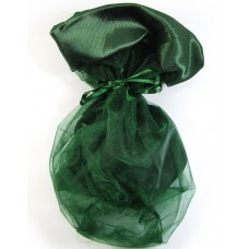 Large Organza Drawstring Forest Pouch