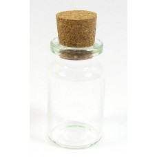 1 Glass Bottle with Cork