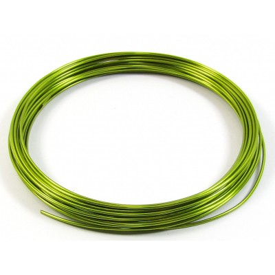 1 Coil Lime Green 0.9mm Copper Jewellery Wire