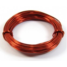 1 Coil Ember Red 0.9mm Copper Jewellery Wire