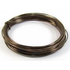 1 Coil Gunmetal Bronze 0.9mm Copper Jewellery Wire
