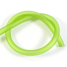 1cm Hollow Rubber 5mm Tubing Lime