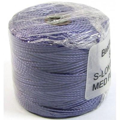 1 Reel Superlon Bead Cord Medium Purple