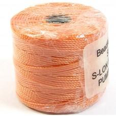 1 Reel Superlon Bead Cord Pumpkin