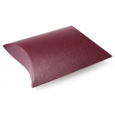 1 Burgundy Pillow Pouch