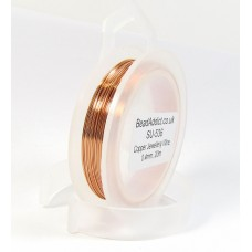 1 Spool Copper Jewellery Wire 0.4mm, 20m