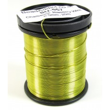 1 Spool Chartreuse Green 0.5mm Copper Jewellery Wire