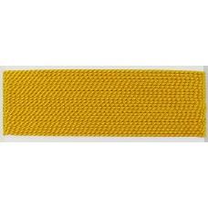 Silk Thread Cord with Needle Amber/ Dark Yellow - Medium
