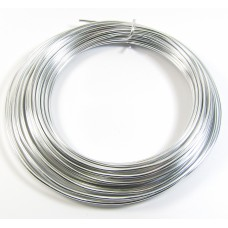 1 Metre 2mm Round Bright Aluminium Wire