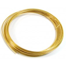 Coil Gold Plated Copper  Jewellery Wire 0.6mm