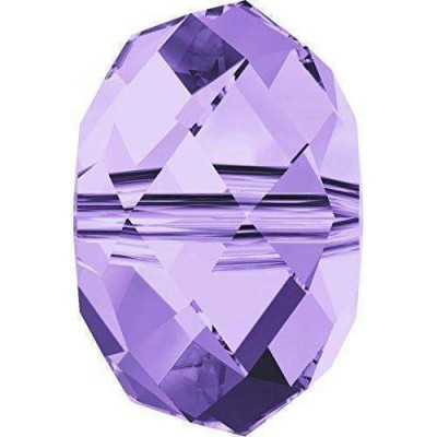 20 6mm Swarovski Crystal Tanzanite 5040 Rondelle Beads