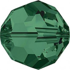 20 4mm Swarovski Crystal Emerald Round Beads Article 5000