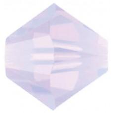 50 Swarovski Violet Opal 5mm Crystal Bicone Beads