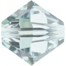 100 Swarovski Crystal Light Azore 4mm Bicone Beads Article 5301/ 5328