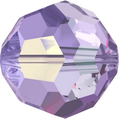 20 4mm Tanzanite Swarovski Crystal Round Beads Article 5000