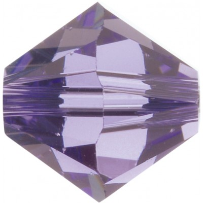 50 5mm Swarovski Crystal Tanzanite Bicone Beads Article 5301/ 5328