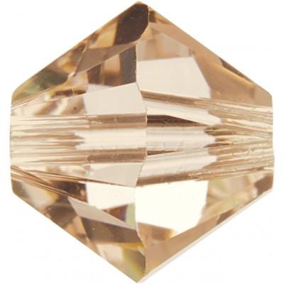 50 5mm Swarovski Crystal Silk Bicone Beads Article 5301/ 5328