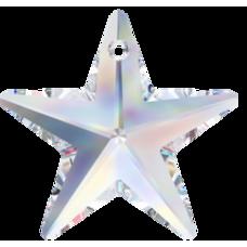 1 Swarovski Crystal Large Crystal/ AB Star Pendant Article 6714