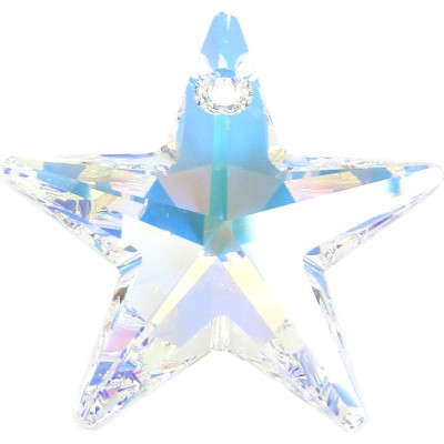 1 Swarovski Crystal Large Crystal/ AB Star Pendant Article 6714