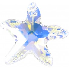 1 Large Swarovski Crystal/ AB Starfish Pendant Article 6721