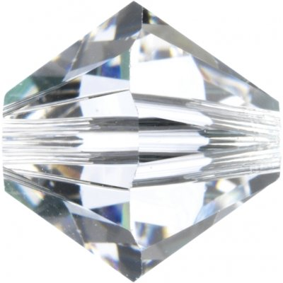 50 Swarovski Crystal 5mm Clear Bicone Beads Article 5301/ 5328