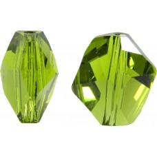 2 Swarovski Crystal Olivine Cosmic Bead Article 5523