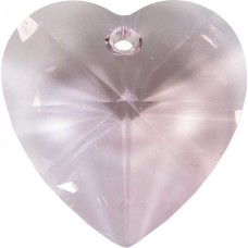 1 Rosaline Swarovski Crystal Heart 28mm Pendant Article 6228