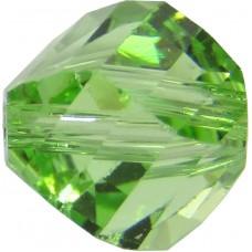 20 Swarovski Crystal Peridot 6mm Helix Beads article 5020
