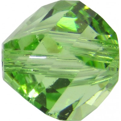 20 Swarovski Crystal Peridot 6mm Helix Beads article 5020