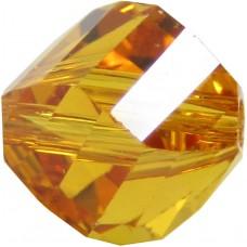 20 Swarovski Crystal Topaz 6mm Helix Beads article 5020