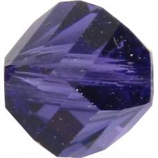 20 Swarovski Crystal Purple Velvet 6mm Helix Beads article 5020