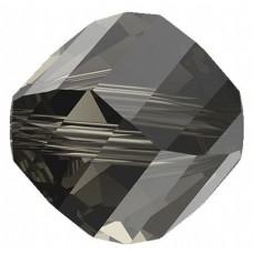 20 Swarovski Crystal Black Diamond 6mm Helix Beads Article 5020