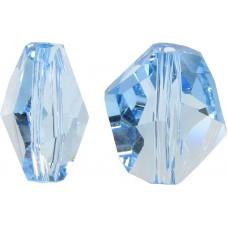 2 Swarovski Crystal Aquamarine Cosmic Bead Article 5523