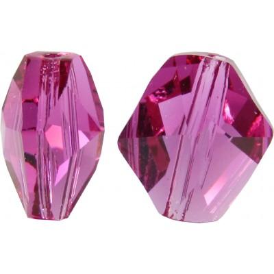 2 Swarovski Crystal Fuchsia Cosmic Bead Article 5523