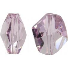 2 Swarovski Crystal Light Amethyst Cosmic Bead Article 5523