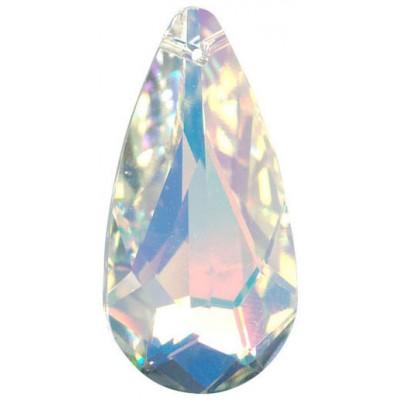 1 Crystal AB Swarovski Pendant Drop