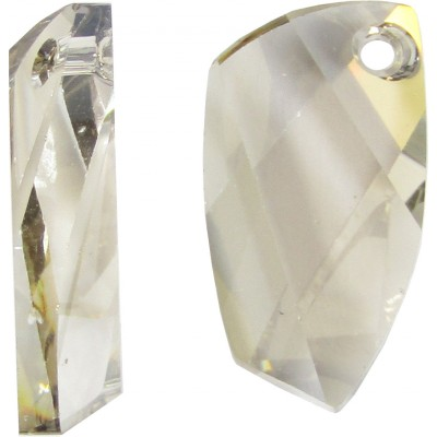 1 Swarovski Crystal Silver Shade Avant-garde Pendant Article 6620