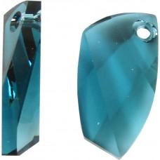 1 Swarovski Crystal Indicolite Avant-garde Pendant Article 6620