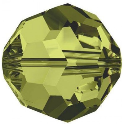 20 Swarovski Crystal 6mm Khaki Round Beads Article 5000