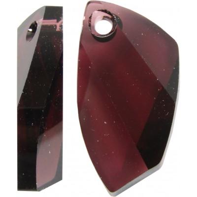 1 Swarovski Crystal Avant Garde Burgundy Pendant Article 6620